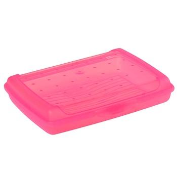 Ємність для сніданку Keeeper Click-Box 0692.1 0.5л рожева