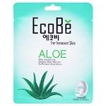 Маска для лица Eco Be тканевая с экстрактом алоэ 25мл