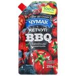 Кетчуп Чумак BBQ з копченими томатами 250г