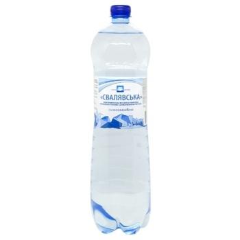 Вода мінеральна Eurogroup Свалявська газована 1.5л