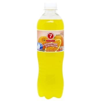 Напиток газированный Семерка с ароматом апельсина 0.5л