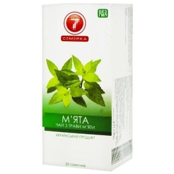Чай Семерка Мята 20шт*2г
