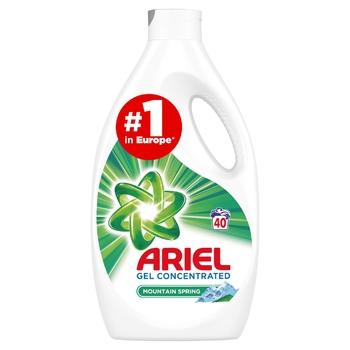 Жидкий стиральный порошок Ariel Горный родник 2,2л - купить, цены на Восторг - фото 1