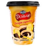 Dolce Banana and Chocolate Flavored Cottage Cheese Dessert 3,4% 350g