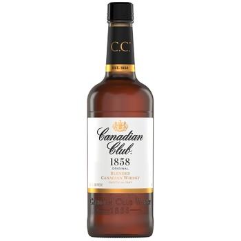 Виски Canadian Club 40% 0,7л