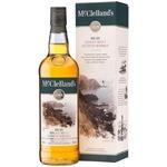 McClelland's islay single malt scotch whiskey 40% 0,7l