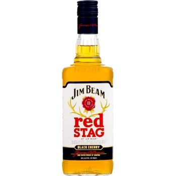 Виски Jim Beam Red Stag Black Cherry 40% 1л