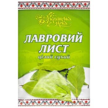 Лавровый лист Українська Зірка 20г
