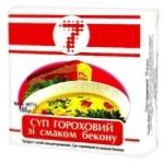 Суп Семерка гороховый с беконом 160г