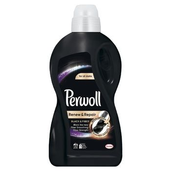 Gel for delicate washing Perwoll Black 1.8 l for black and dark speeches - buy, prices for CityMarket - photo 2