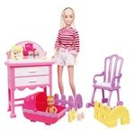 One two fun Fashionable Mom Doll with Accessories 29cm