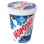 Морозиво Хладик Морозко 500г з темним печивом к/у