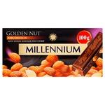 Millennium Gold Nut Dark Chocolate with Whole Almonds 100g