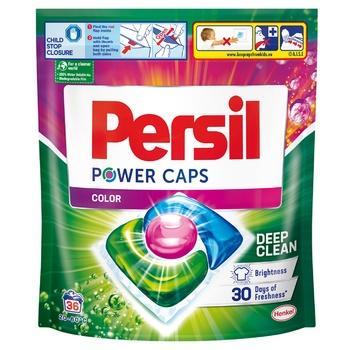 Дуо-капсулы для стирки Persil Color 36шт - купить, цены на Ашан - фото 1