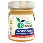 Молоко згущене кокосове Бі Фуд 240г на кокосовому цукрові с/б