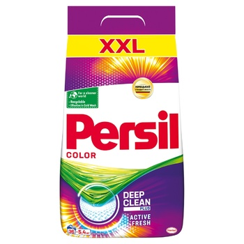 Persil Color Powder Laundry Detergent 5,4kg - buy, prices for CityMarket - photo 1
