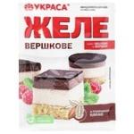 Желе Украса с порошком какао 90г