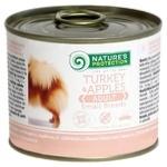 Корм Нейчерал Протекшн Догс 200г індик та яблука для дорослих собак малих порід від 1року ндс