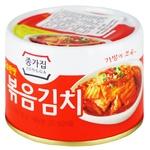 Капуста Jongga Kimchi жареная 160г