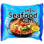 Лапша Samyang Рамен со вкусом морепродуктов 120г