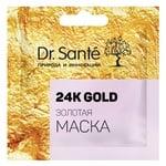 Маска для обличчя Dr. Sante 24K Gold 12мл