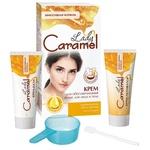 Крем Lady Caramel для обесцвечивания волос на лице и теле 2шт*50мл