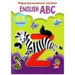 Книга Первые развивающие наклейки English ABC