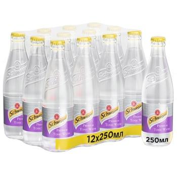 Schweppes Premium Tonic Water Carbonated beverage 0,25l
