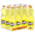 Fanta lemon carbonated beverage 1000ml