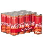 Напиток газированный Coca-Cola Orange ж/б 0,33л
