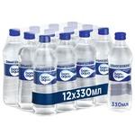 Вода BonAqua сильногазированная стекло 0,33л
