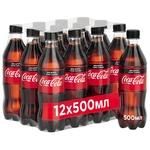 Напиток Coca-Cola Zero сильногазированный 0,5л