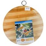 Дошка обробна Frico FRU-799 бамбукова 30см кругла