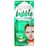 Маска для лица Eveline Bubble Увлажняюще-успокаивающая тканевая с алоэ вера
