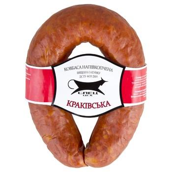 Spets-TsehKrakow Semi-Smoked Sausage