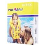 Жилет Intex Pool School Делюкс для плавання 3-6 років