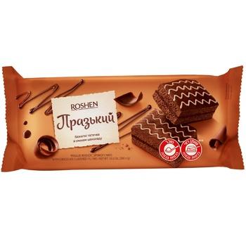 Roshen Prague biscuit 300g - buy, prices for CityMarket - photo 1