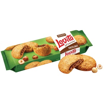 Roshen Lovita Butter Cookies with Nut Filling 170g - buy, prices for CityMarket - photo 1