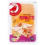 Auchan Mimolette Plate Cheese 200g