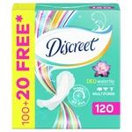 Прокладки Discreet Deo Waterlily ежедневные 120шт
