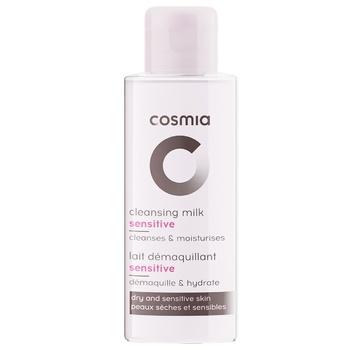 Молочко для зняття макіяжу Cosmia для чутливої та сухої шкіри 75мл - купити, ціни на Ашан - фото 1