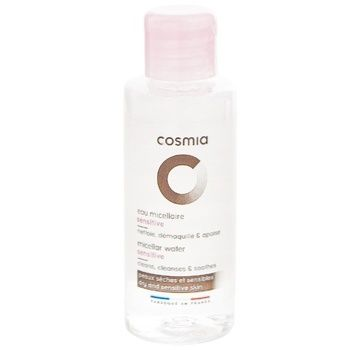 Мицеллярная вода Cosmia для сухой и чувствительной кожи 75мл