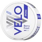 Безтабачные никотиносодержащие паучи Velo Berry Frost Medium Mini