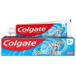 Детская зубная паста Colgate Доктор Заяц со вкусом жевательной резинки 50мл