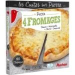 Піца Ашан Чотири сира заморожена 370г