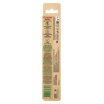 Зубная щетка Colgate Бамбук Древесный Уголь черная мягкая - купить, цены на Метро - фото 2