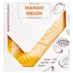 Шоколад Аугуст Веган 75г манго-диня без цукру без лактози без глютену к/у