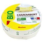 Auchan Bio Camembert Cheese 49% 250g