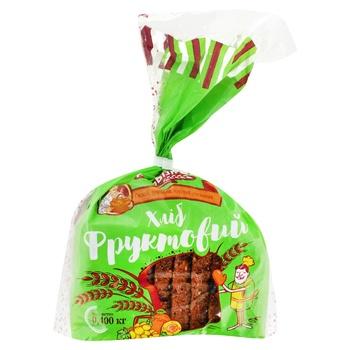 Agrobisness Fruit Rye-wheat Bread 400g