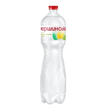 Morshynska Lemon, Lime and Mint Flavored Highly Carbonated Drink 1,5l - buy, prices for CityMarket - photo 1